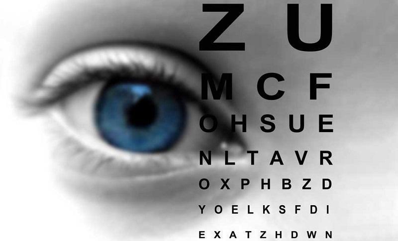Child and eyesight test