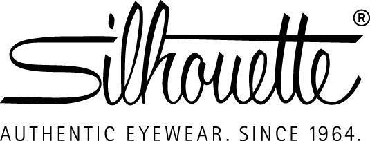 Logo Silhouette Authentic Eyewear E black