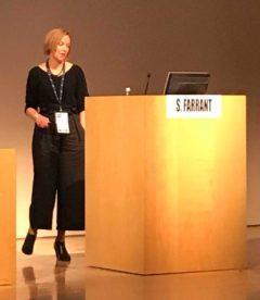 Sarah Farrant at Rome TFOS